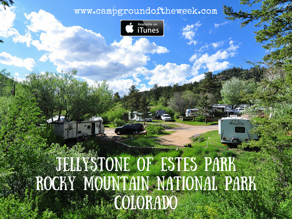 Campground #40 Jellystone Park of Estes near Rocky Mountain National Park, Colorado