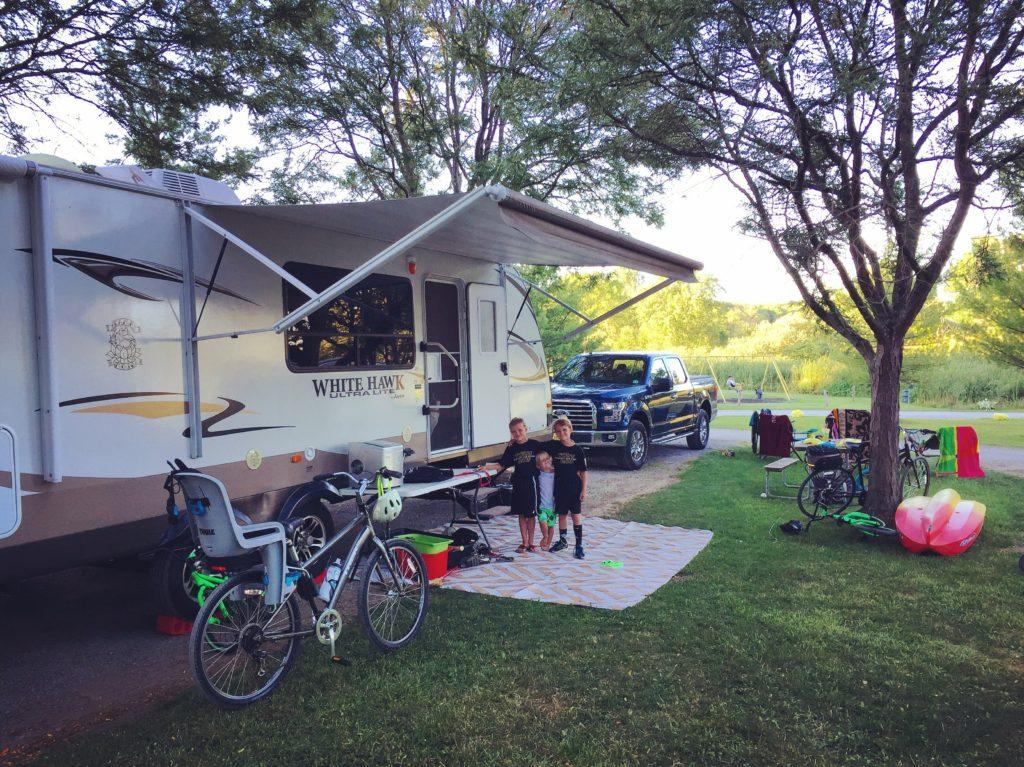 Campground #47 Streetsboro/Cleveland SE KOA near Cleveland, Ohio