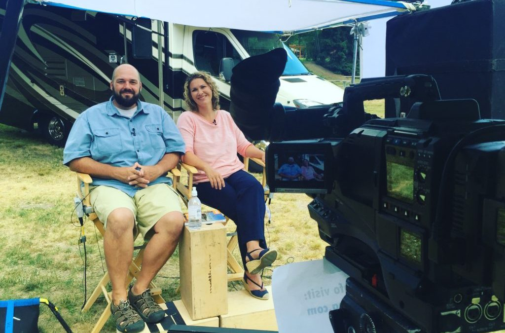 Go RVing and RVFTA Satellite Media Tour: Video Footage!