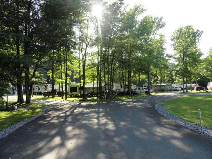 Campground Review #52 Timberlane Campground outside of Philadelphia in Clarksboro, New Jersey