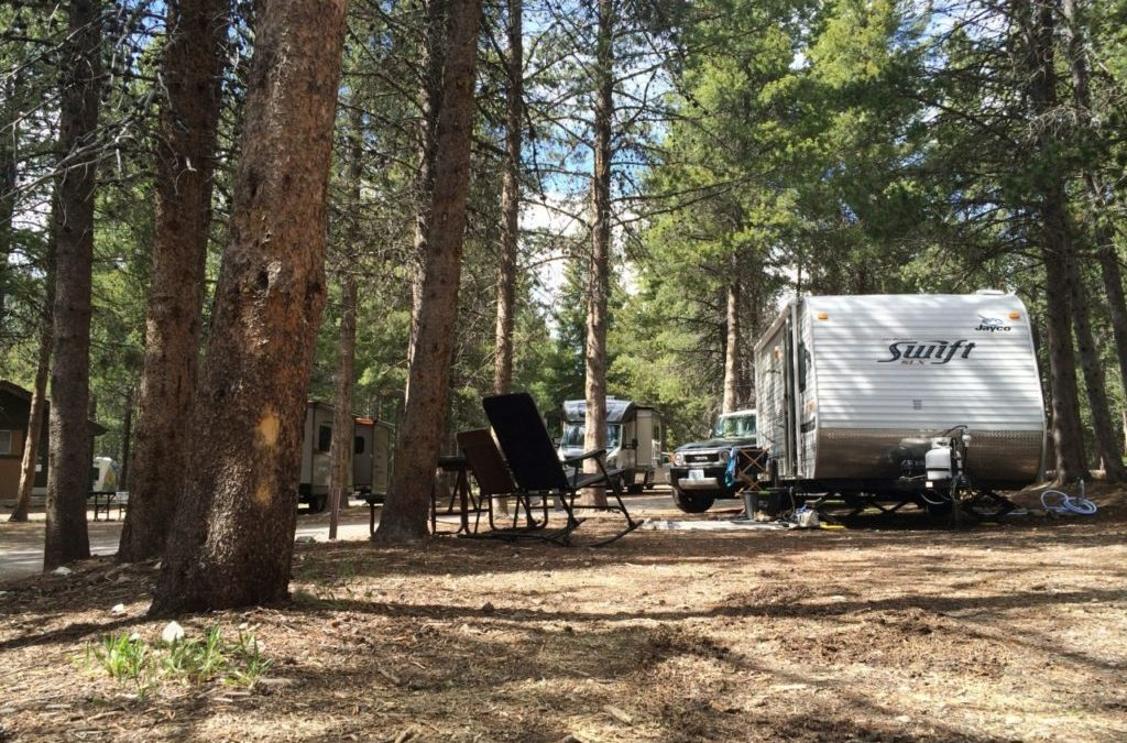 Campground Review #60 Colter Bay RV Park in Grand Teton National Park, Wyoming