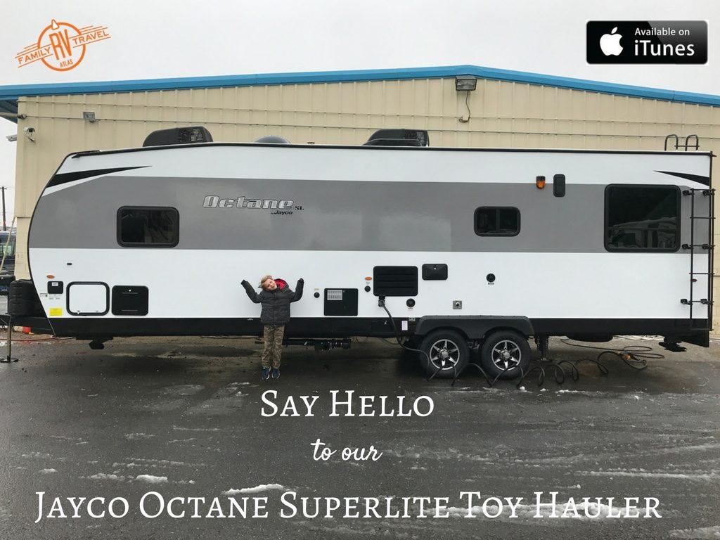 RVFTA #121 Saying Hello to Our Jayco Octane Superlite Toy Hauler