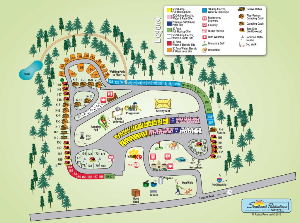 Campground Review 65 LincolnWoodstock KOA in the White Mountains
