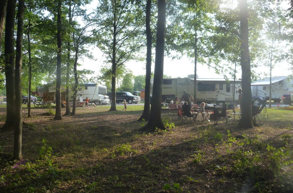 Campground Review #62 Branches of Niagara Campground and Resort in Grand Island, New York near Niagara Falls