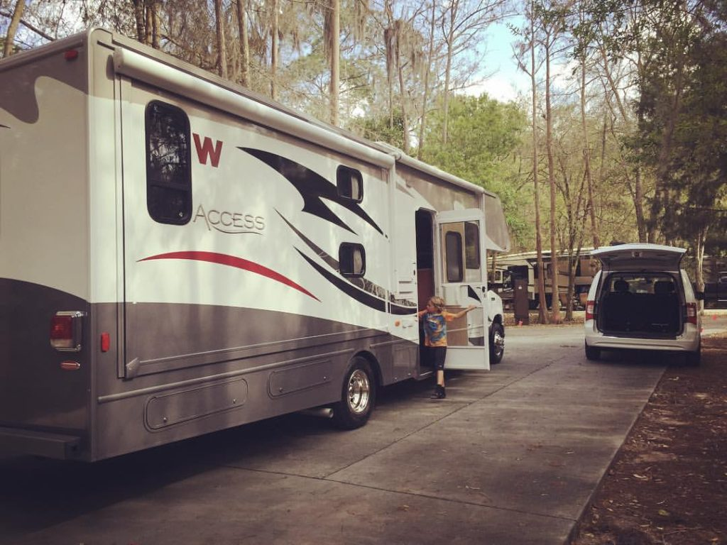 Our First RV Rental: Visiting Fort Wilderness with a