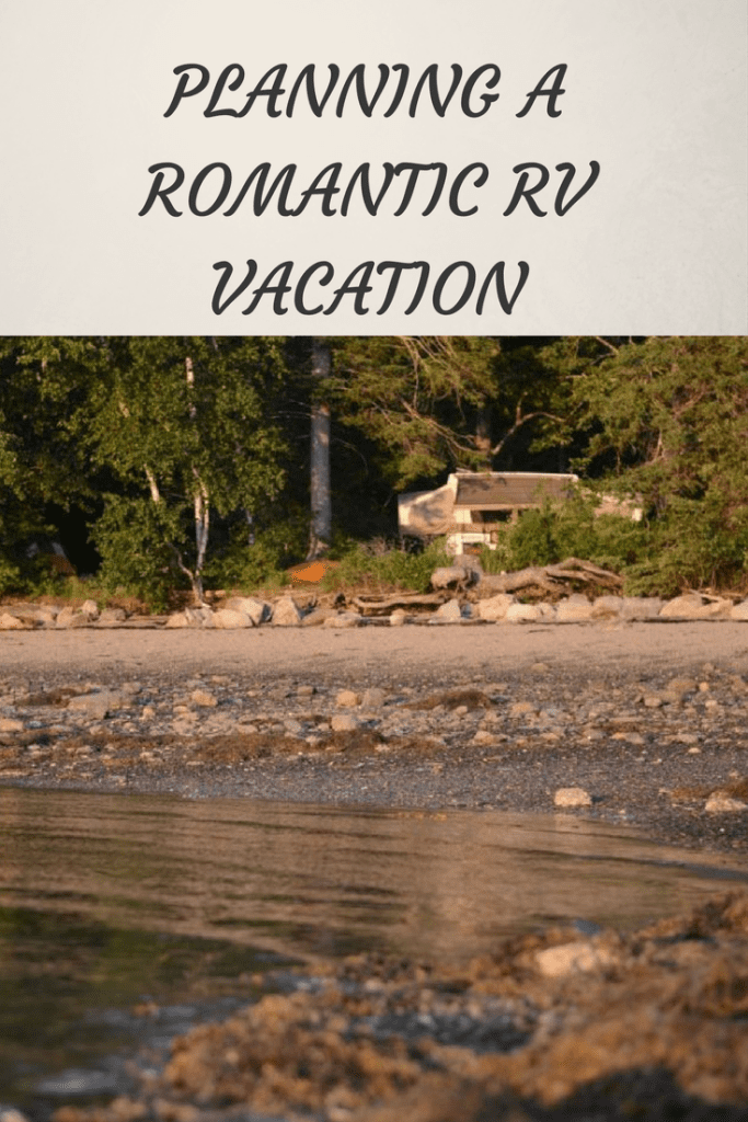 planning a romantic rv vacation