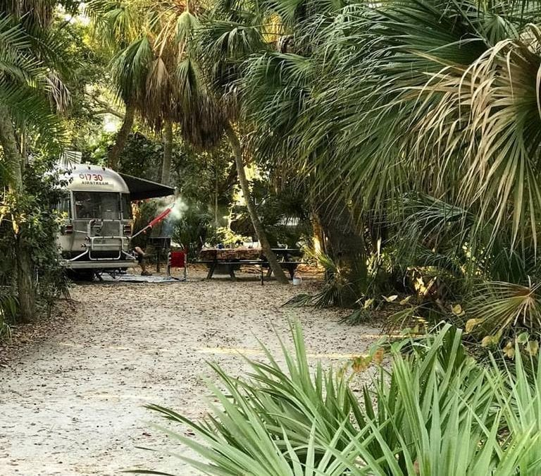 Campground Review #66 Fort De Soto Campground near St. Petersburg, Florida
