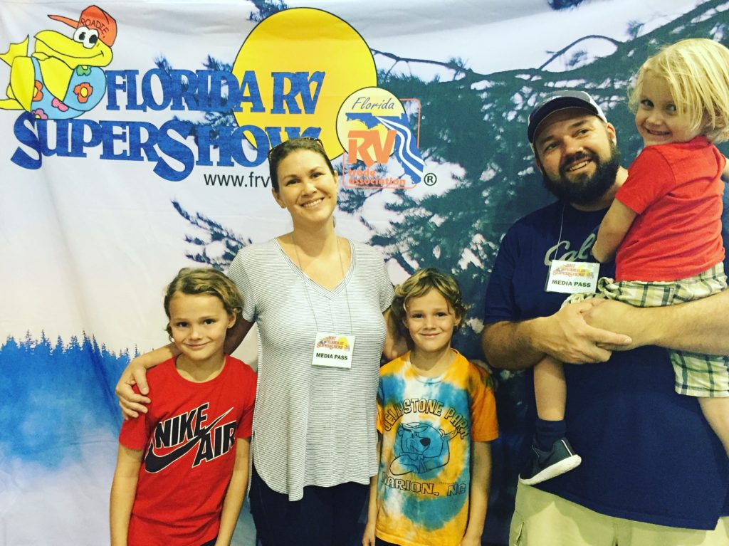 RVFTA #127 Greetings from the 2017 Florida RV SuperShow!