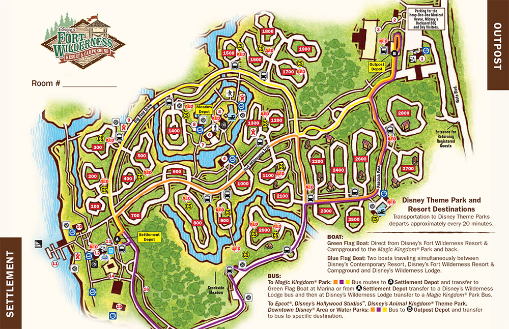 Camping at Disney Worlds Fort Wilderness is unlike any other campground..