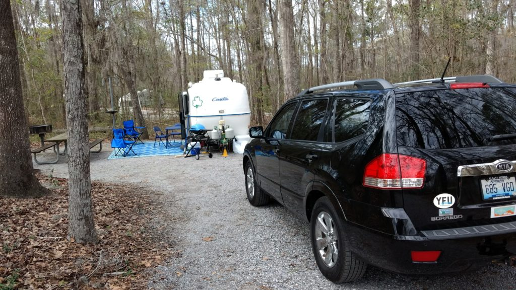 Campground Review #76 Gunter Hill Campground outside Montgomery, Alabama