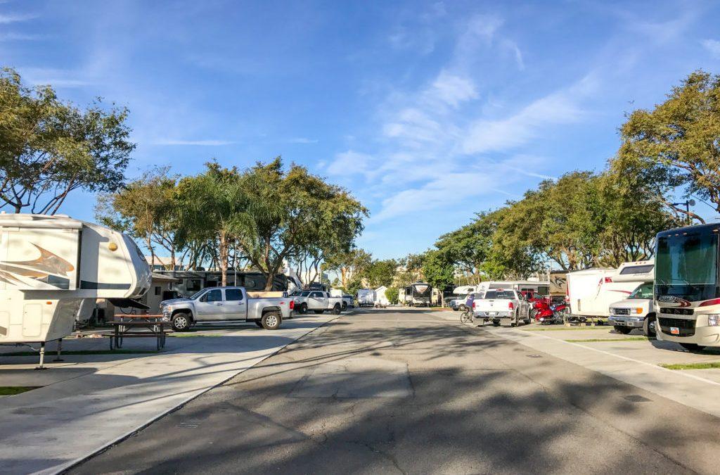 Campground Review: Anaheim RV Park near Disneyland, California