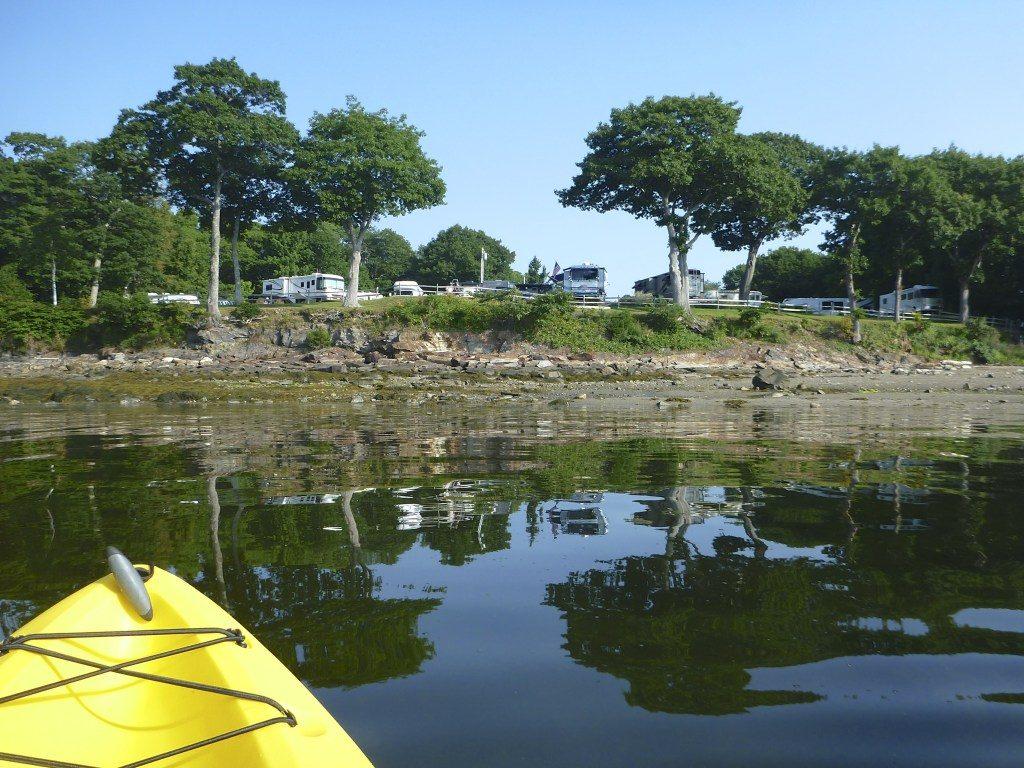 Campground Review #88 Moorings Oceanfront RV Resort in Belfast, Maine