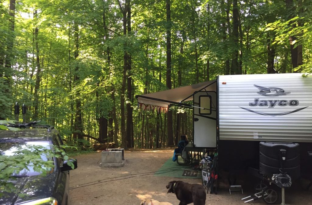 Campground Review #85 Moreau Lake State Park at the Gateway of the Adirondacks Region in New York State