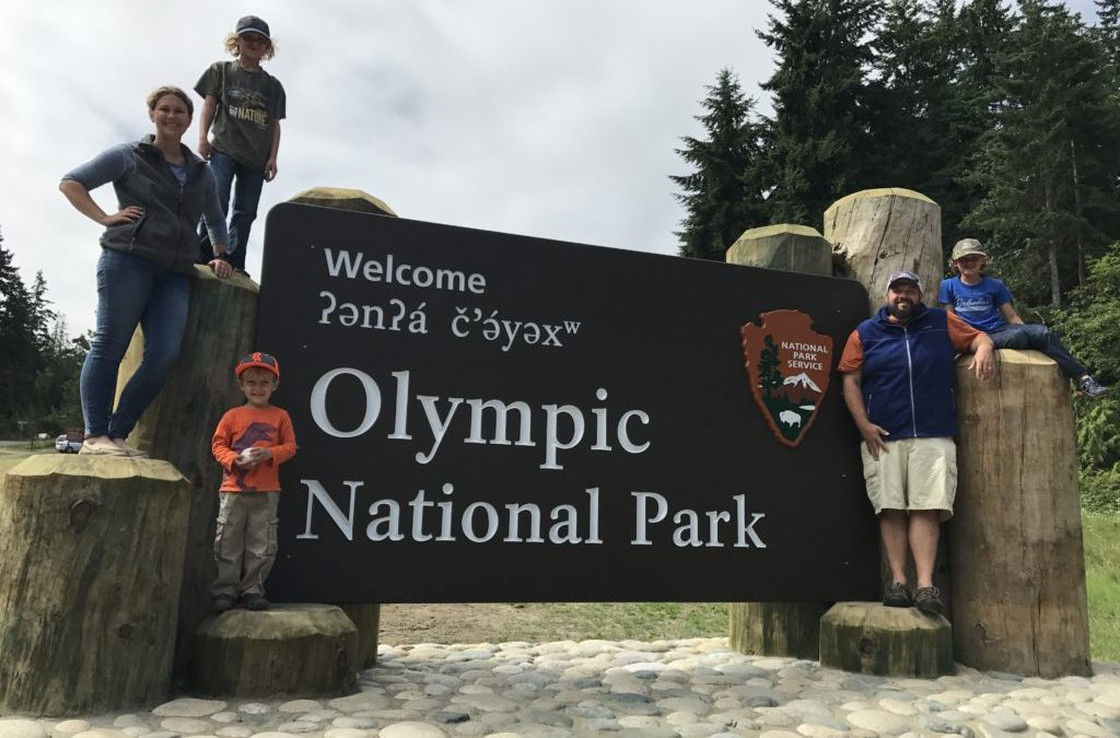RVFTA #152 Greetings from Olympic National Park in Washington