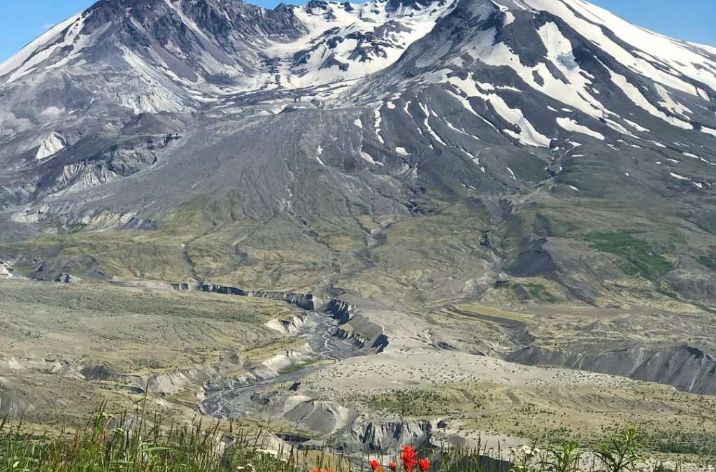 RVFTA #153 Greetings from Mount St. Helens in Washington
