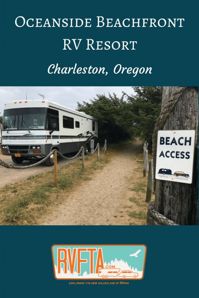 Oceanside Beachfront Rv Resort In Charleston Oregon