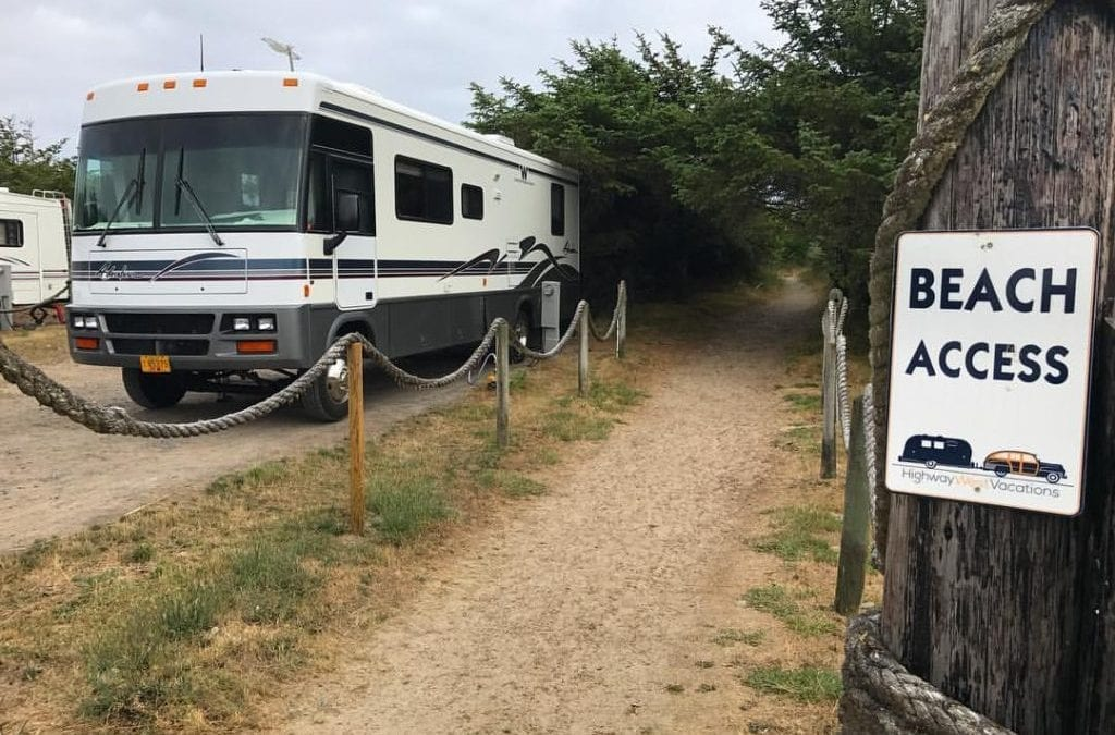 Campground Review #93 Oceanside Beachfront RV Resort in Charleston, Oregon near Coos Bay