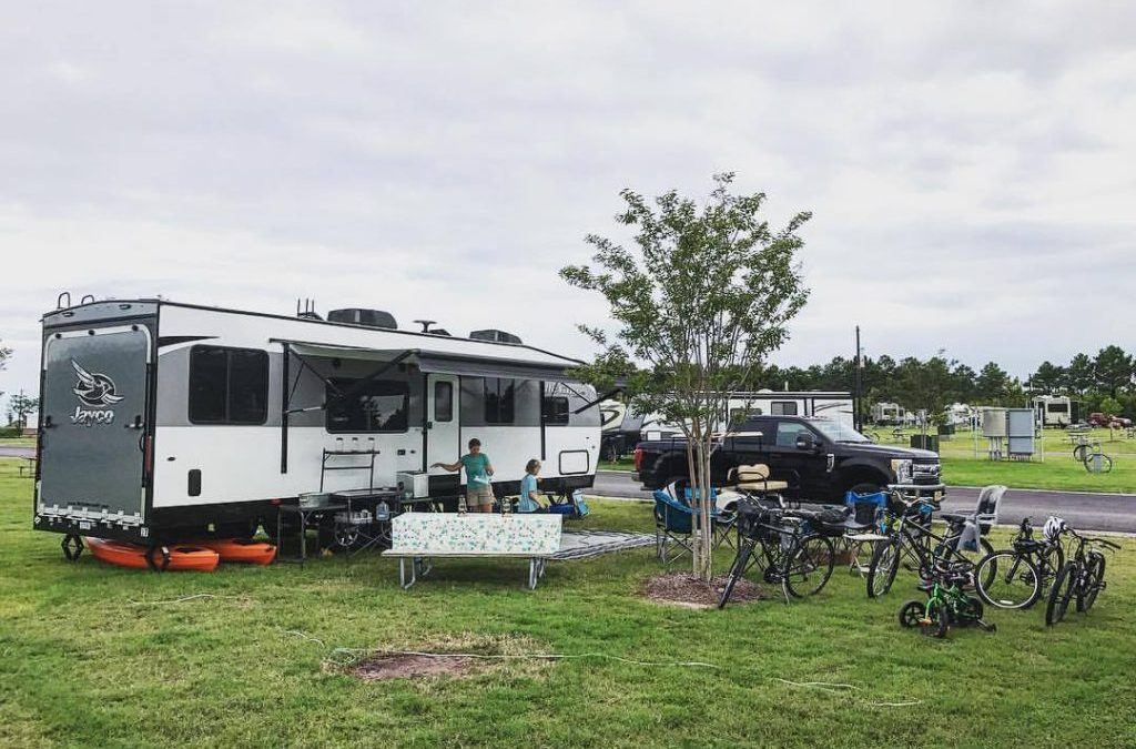 Campground Review #97 Sunset Beach Resort in Cape Charles, Virginia