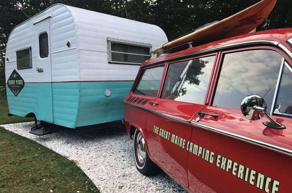 Campground Review #99: Sandy Pines Campground in Kennebunkport, Maine