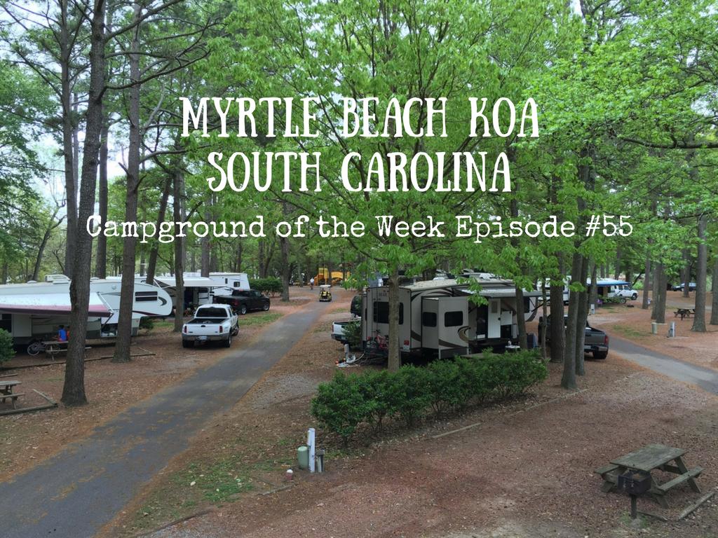 Myrtle Beach Koa South Carolina