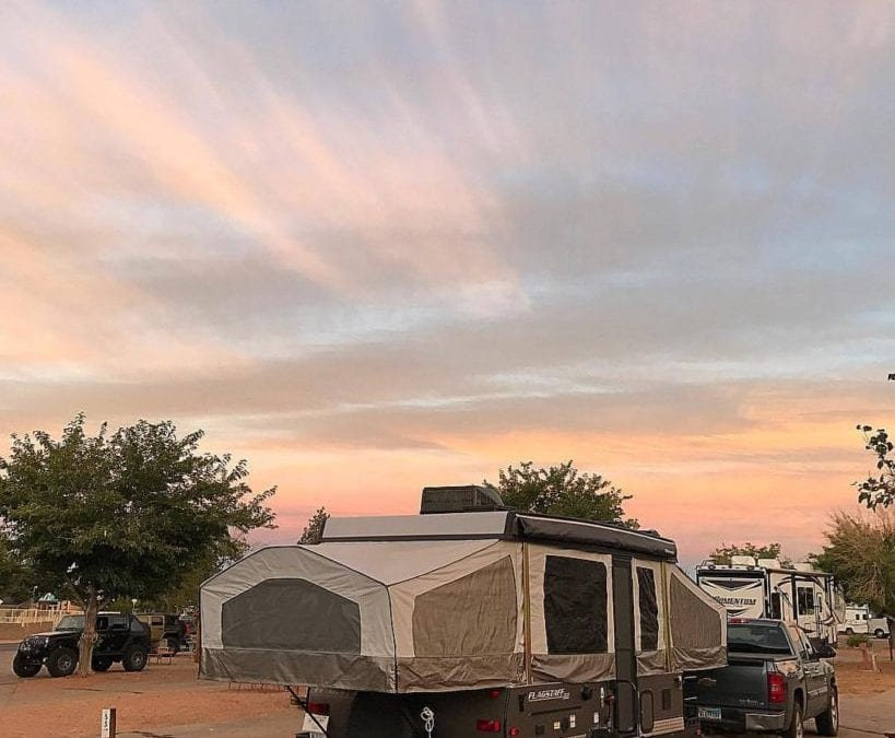 Campground Review #101 Albuquerque KOA in Albuquerque, New Mexico