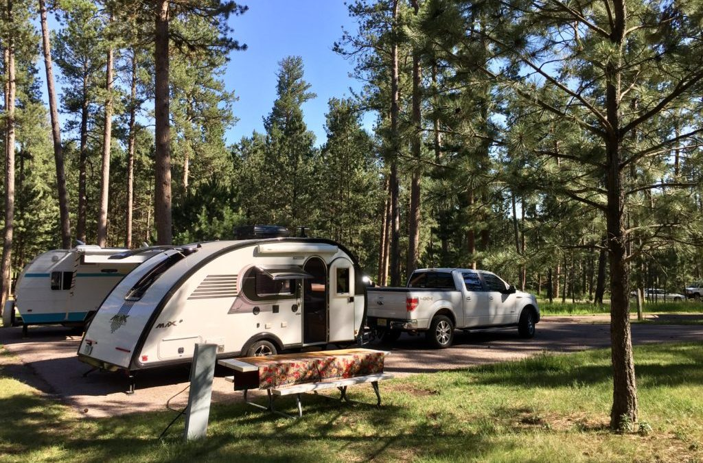 Campground review 103 custer state park in the black for Cabins near custer sd