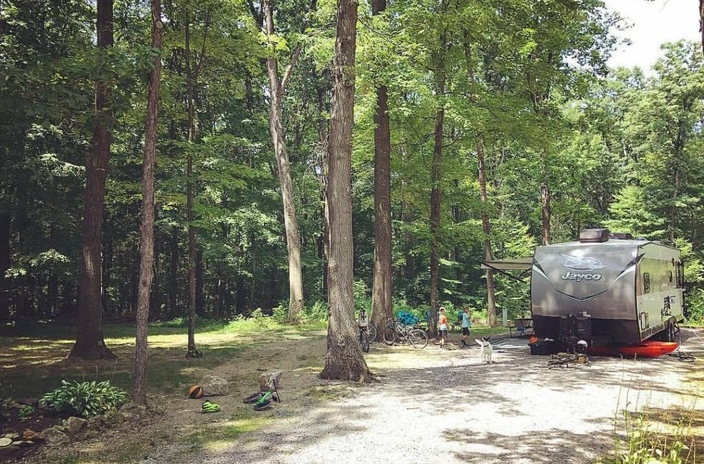 Campground Review #102 Jellystone Park at Kozy Rest in Harrisville, Pennsylvania
