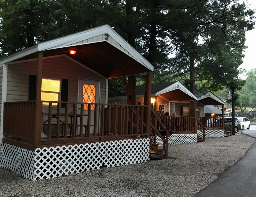 Eureka Jellystone Resort at Sixflags near St  Louis Missouri