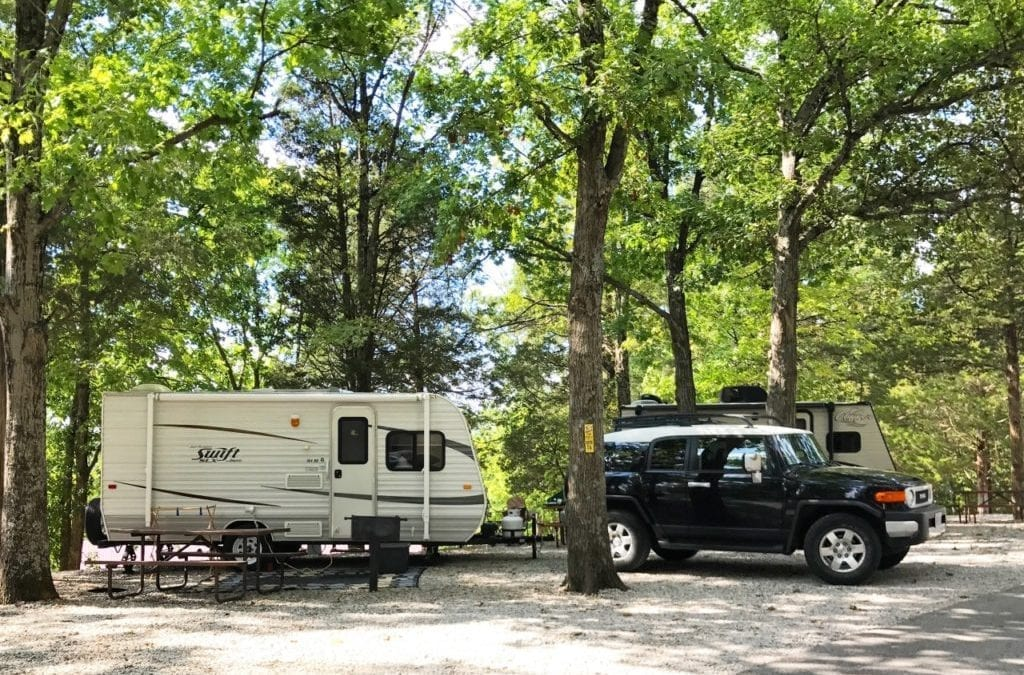 Campground Review #106 Eureka Jellystone Park Resort at SixFlags near St. Louis, Missouri