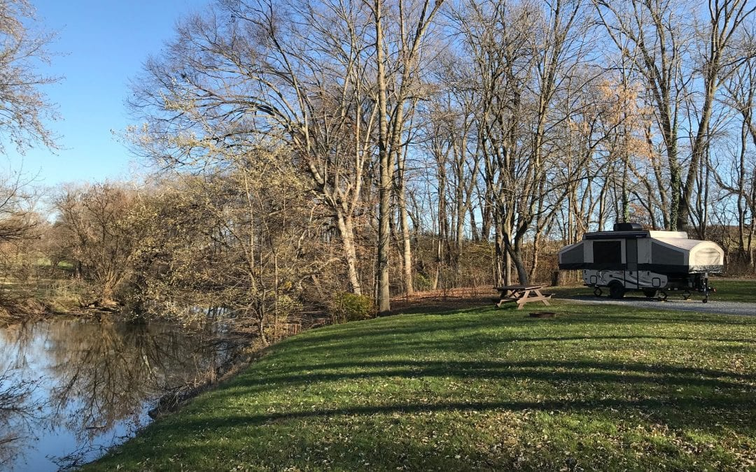 Campground Review #111 Old Mill Stream Campground in Lancaster, Pennsylvania