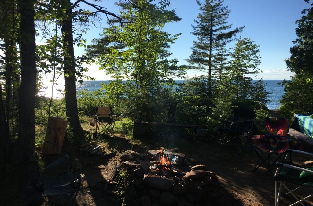 Campground Review #110 Sunset Bay RV Resort and Campground in the Upper Peninsula of Michigan near Isle Royal National Park