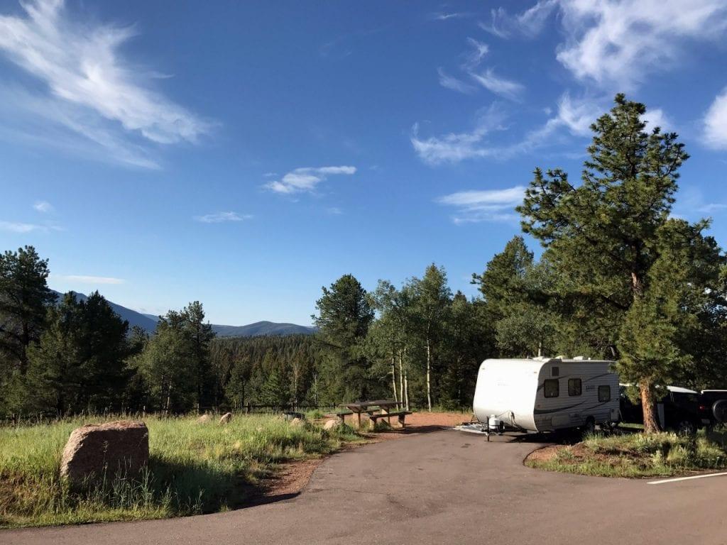 full hookup kampiranje u Coloradu