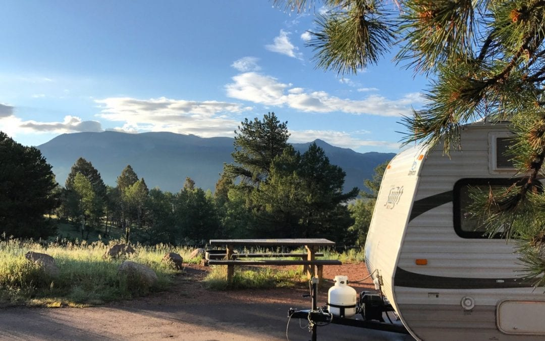 Campground Review #112 Mueller State Park in Divide, Colorado