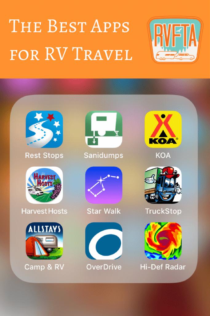Best RV Travel Apps