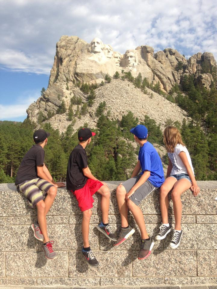 Meet the Carneys at Mount Rushmore