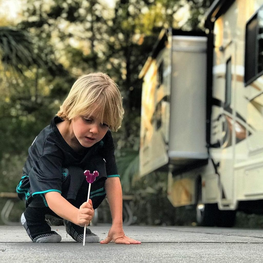 Lazydays RV Rental at Disney World