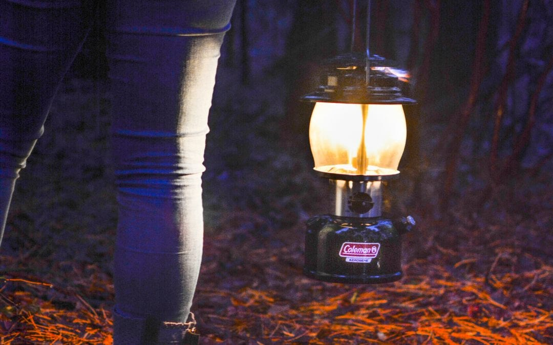 Light Up the Night (and your Campsite) with a Classic Coleman Lantern