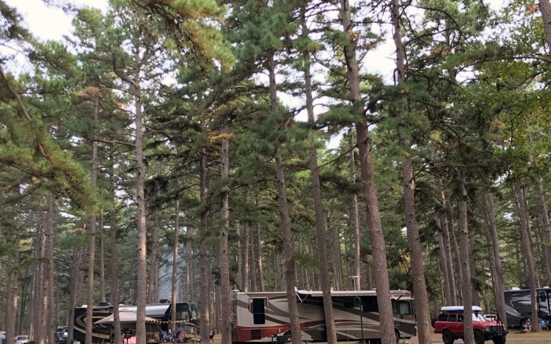 Campground of the Week #115 Petit Jean State Park in Arkansas