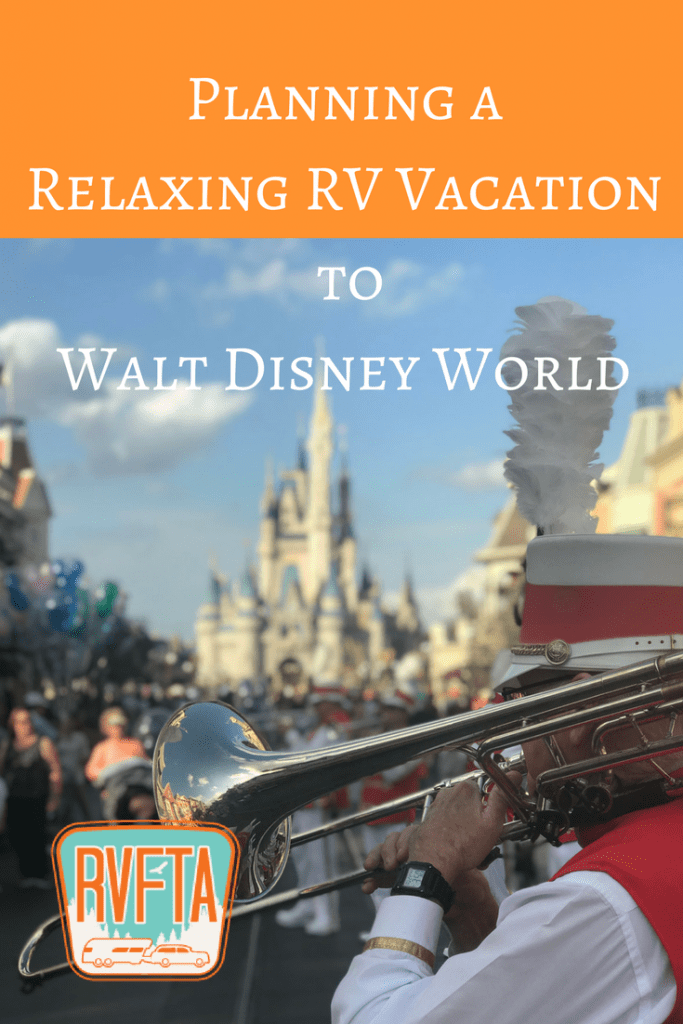 Planning an RV Trip to Walt Disney World