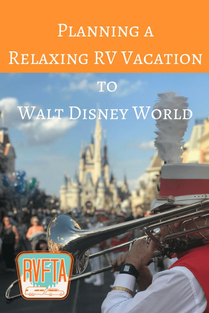 Planning an RV Trip to Walt Disney World