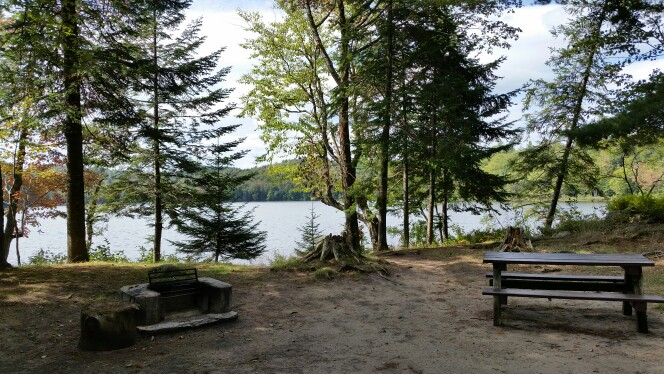 brown tract pond campsite
