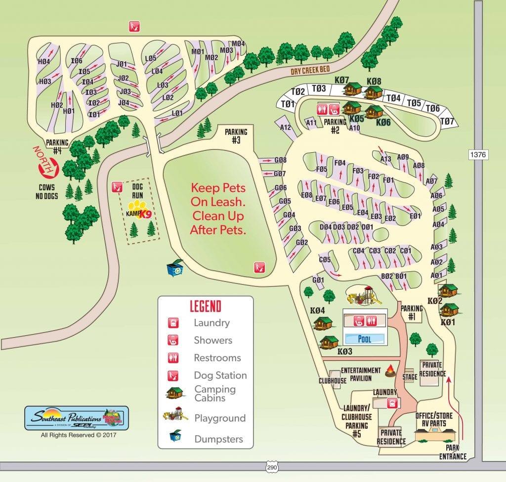 Texas Campground Smackdown: Fredericksburg RV Park VS