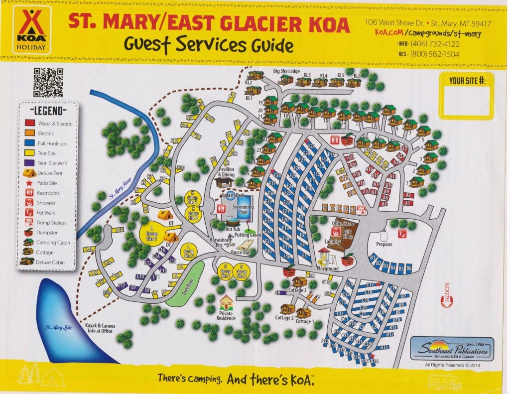 St. Mary/East Glacier KOA near Glacier National Park, Montana on national parks united states, koa delta map, koa camps in oklahoma, koa oklahoma map, interstate highways united states, koa map of united states,