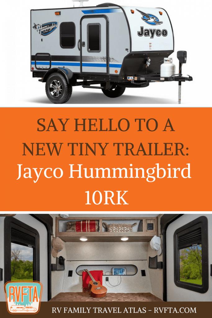 A New Tiny Trailer The Jayco Hummingbird 10rk