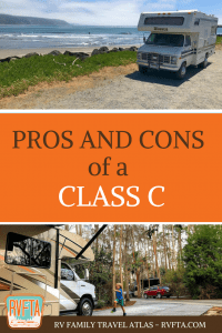 Pros and Cons of a Class C Motorhome from RVFTA