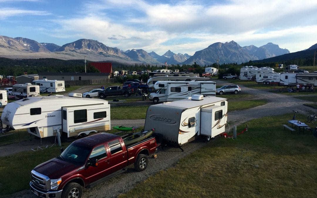 Campground Review #125 St. Mary/East Glacier KOA near Glacier National Park, Montana