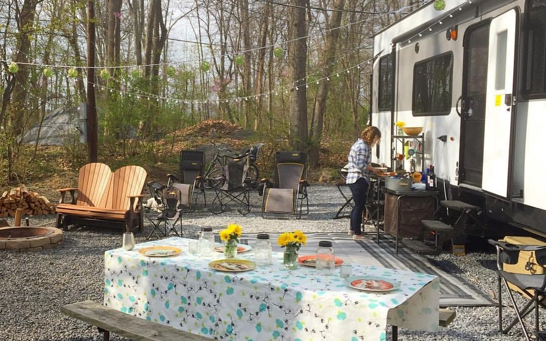 A Glamping Gear Guide: 10 Items to Dress Up Your RV and Campsite