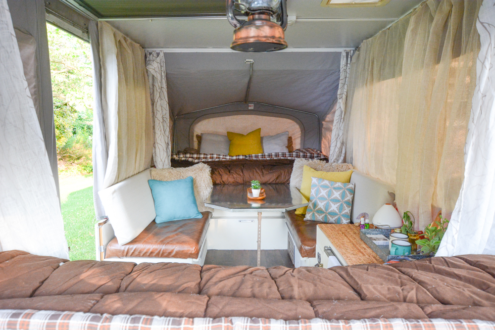 A Used Pop Up Camper Remodel Penny The Pop Up Gets A Makeover