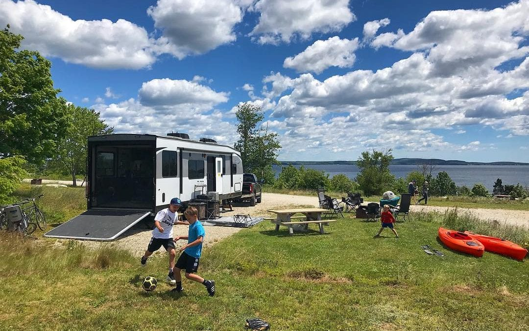 Campground Review #132 Graves Island Provincial Park in Nova Scotia, Canada