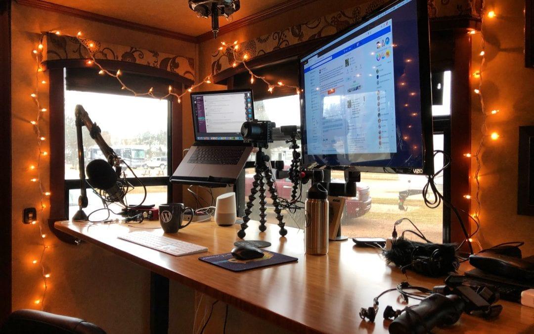 RVFTA #192 The Life of a Digital Nomad with David Blackmon of Aspen Studios
